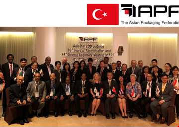 Turkey and ASD to be Elected the President of Asian Packaging Federation